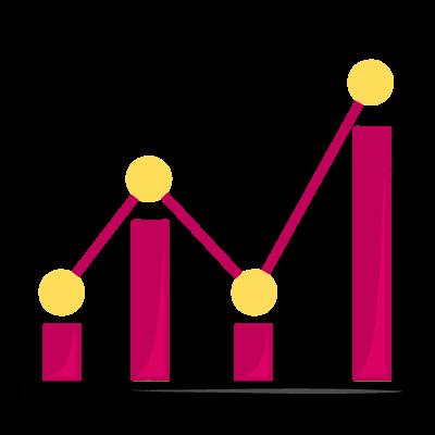 Gráfico que busca ilustrar las buenas valoraciones en Google My Business