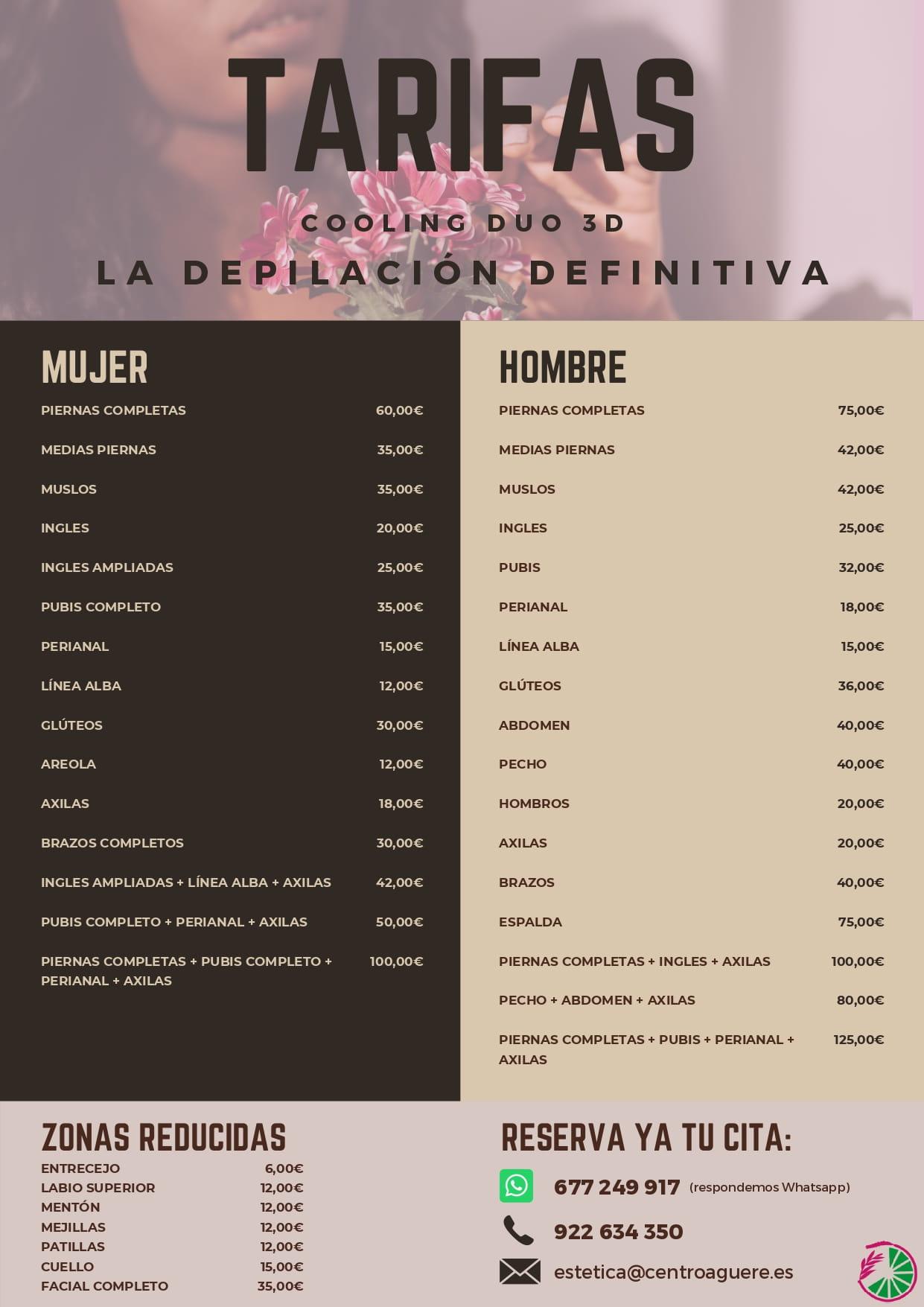 Centro de estética en Tenerife | Depilación